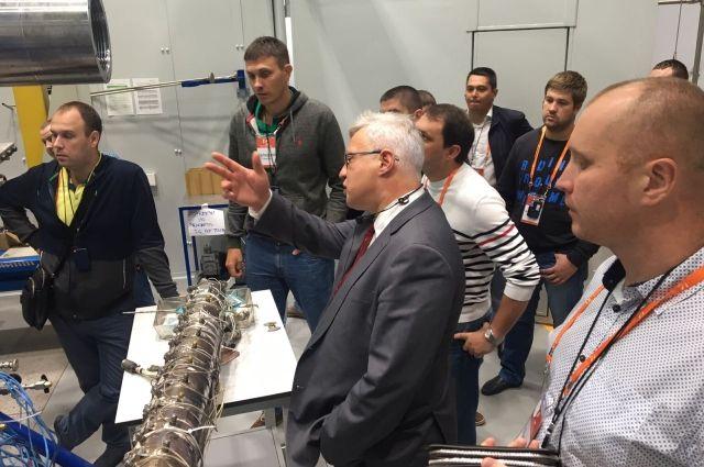 Сотрудники «Оренбургнефть» посетили научный центр Сколково.