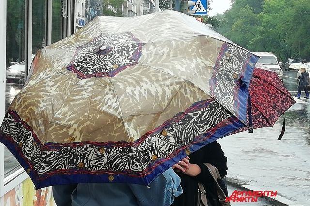 Завтра днём возможен дождь.