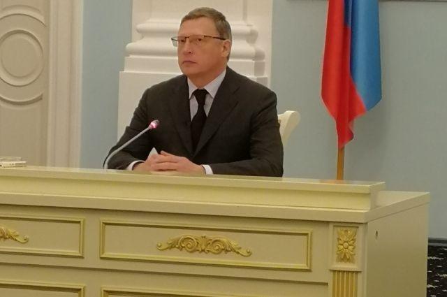 Бурков почти час общался с журналистами.
