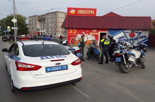 На дорогах Тюменской области по вине мотоциклистов произошло 89 ДТП