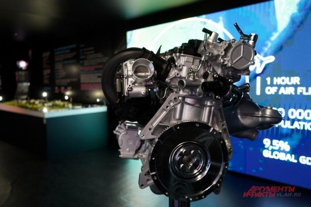 Новый двигатель для «Мазды» запустили в производство во Владивостоке.