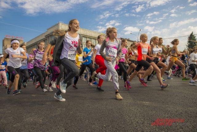 Фестиваль бега - 2018 в Новосибирске.