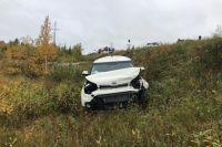 В тройном ДТП на трассе «Сургут-Салехард» пострадали два человека