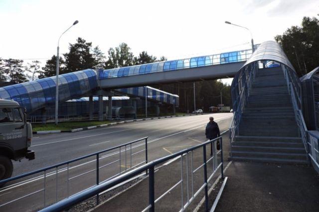 Переход появился на 28 км трассы Р-257 «Енисей» около поселка Молодежный.