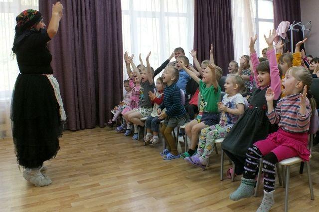 Спектакль показали воспитанникам реабилитационного центра для несовершеннолетних «Радуга».