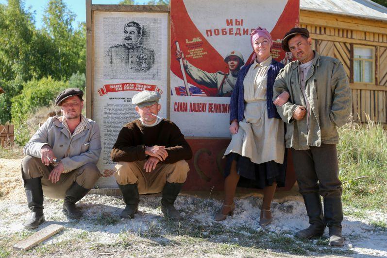 В сериале также сыграют известные актеры Роман Мадянов, Сергей Маковецкий (в роли профессора Лейбе).