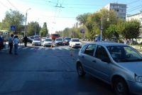 В Оренбурге водитель «Калины» насмерть сбил пенсионерку на «зебре».