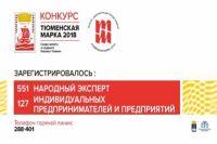 Конкурс «Тюменская марка» поставил рекорд по числу «народных экспертов»
