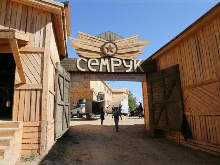 В Лаишевском районе воспроизвели сибирский городок ссыльных поселенцев Семрук.