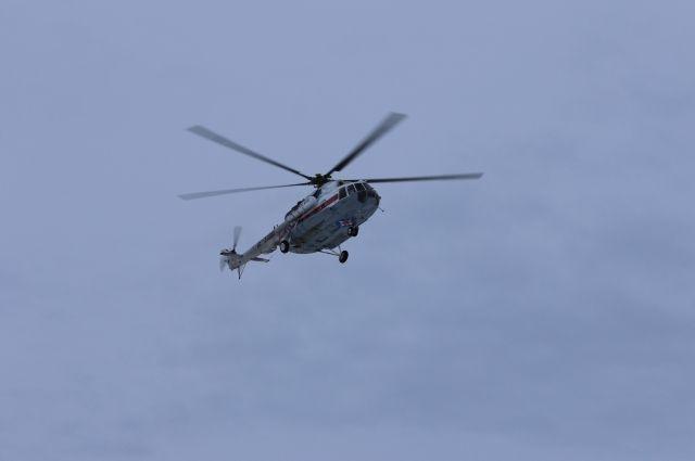 Вертолёт МЧС России выполнил санитарный рейс в Ванинский район Хабаровского края.