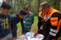 Навыки работы участники отряда отрабатывают во время тренировок.