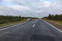 В ДТП на трассе «Сургут-Салехард» пострадал водитель