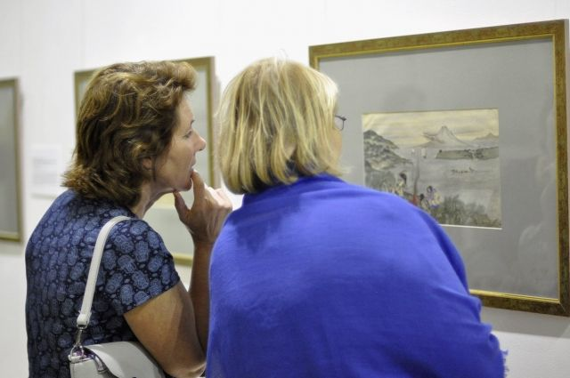 В Пермской художественной галерее можно посмотреть выставку «Айны. Загадочный мир».
