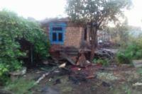 В Оренбурге на пожаре в Карачах погибли два человека.