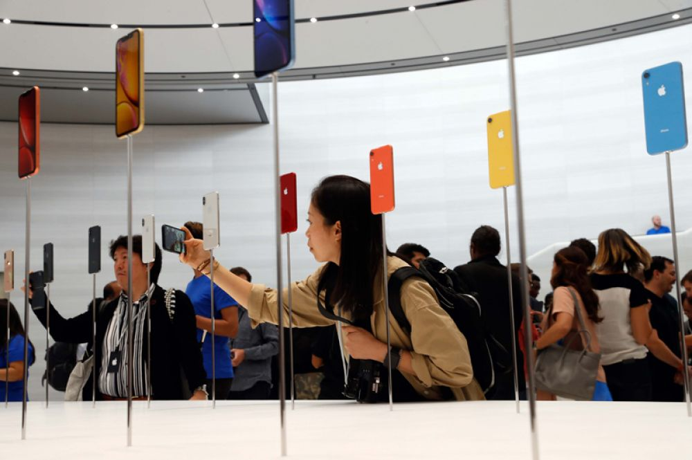Новинки Apple на презентации в Купертино.