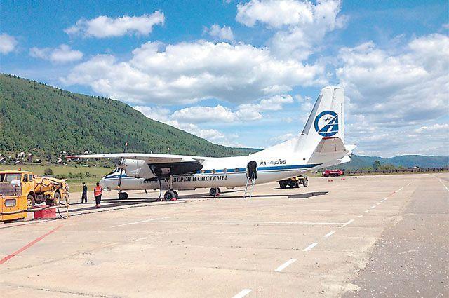 Реконструкция взлётно-посадочной полосы аэропорта Бодайбо - один из крупных проектов для района.