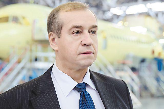 Губернатор Иркутской области Сергей Левченко.