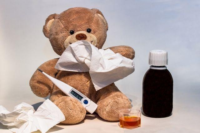 В Ноябрьске первый случай гриппа: заболел маленький ребенок