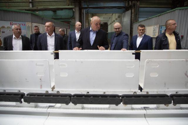 С кузбасским машиностроением Сергей Цивилёв тоже уже успел познакомиться, побывав на «Юрмаше».