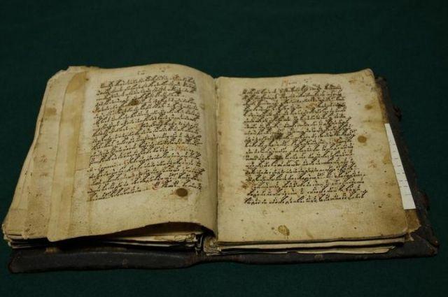 Фото певческой рукописи