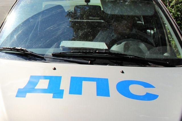 В полиции утверждают, что в ДТП участвовали только одна легковая машина и два пешехода.