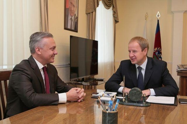 Виктор Томенко и Руслан Новиков
