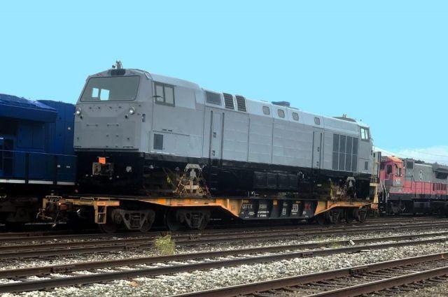 Первый локомотив General Electric отправили в Кременчуг на Крюковский завод