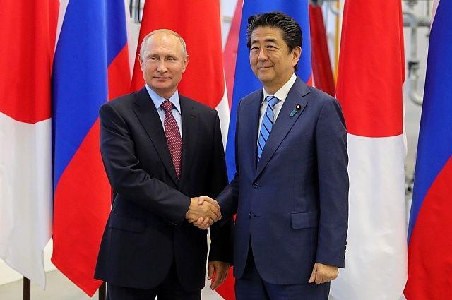Абэ «навсякий случай» напомнил Путину позицию Японии поКурилам
