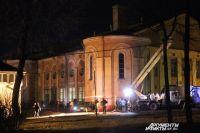 Съемки пилотной серии «Вампиров средней полосы» около кинотеатра «Октябрь» в Смоленске.