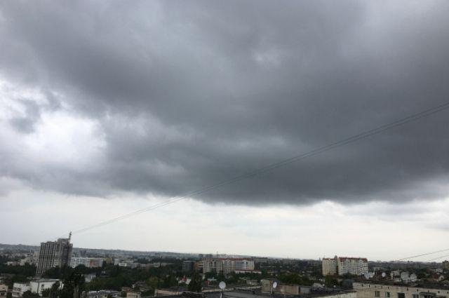 В последние дни в Красноярске идут дожди.