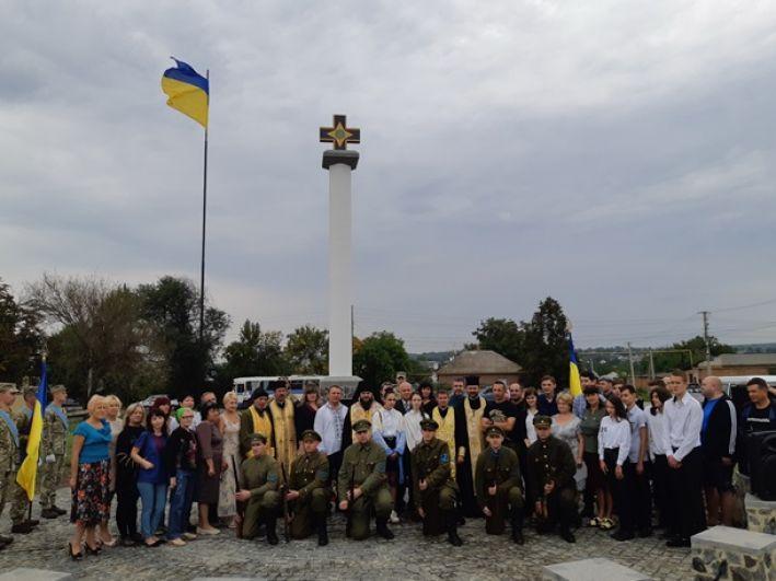 Этот проект является первым и самым крупным мемориальным комплексом в честь украинского войска на территории Одесской области.