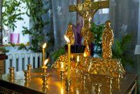 В Уренгое осветили кресты будущего храма