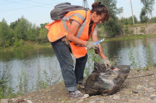 Тюменцы собрали и вывезли 180 кубических метров мусора