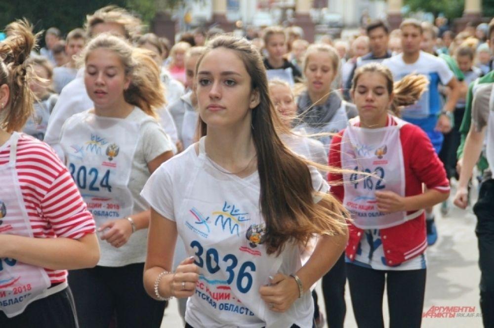 1603 человека зарегистрировалось для участия во Всероссийском дне бега «Кросс Нации – 2018».
