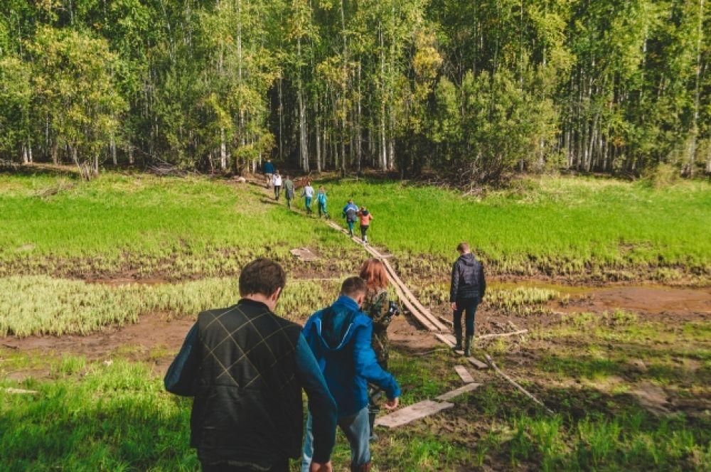 23 волонтера уехали за 40 км от Ханты-Мансийска за находками.