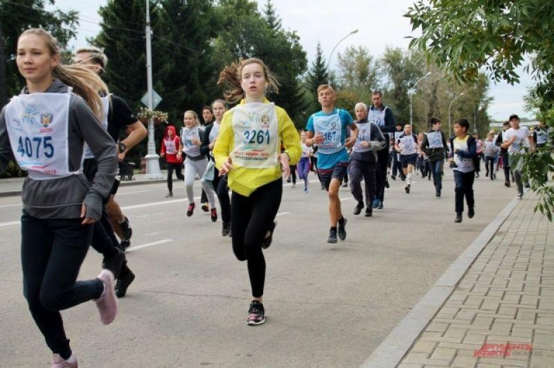 Участие в забеге приняли как профессионалы, так и любители.