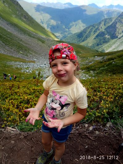 Анна Левонюк, 7 лет, Ставрополь