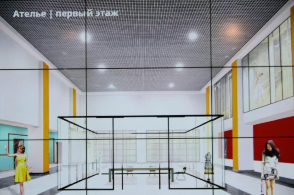 Среди идей - разделить здание на несколько секций: подвал – зона underground искусства, первый этаж – «улица» - место для проведения досуга и второй этаж, где может расположиться театр и другие кружки.