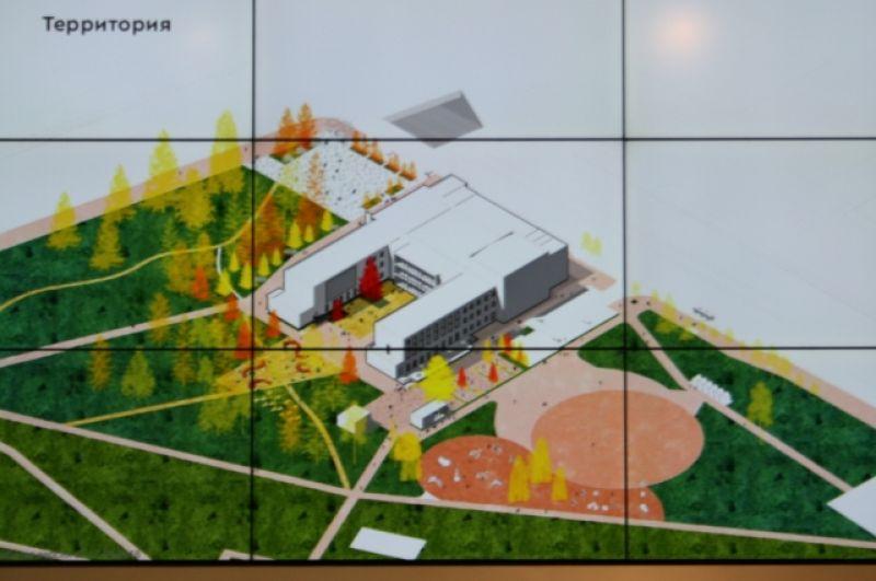 Команда архитекторов развить визуальные связи, сделать ДК более открытым и проницаемым, чтобы с улицы была видна активность изнутри.