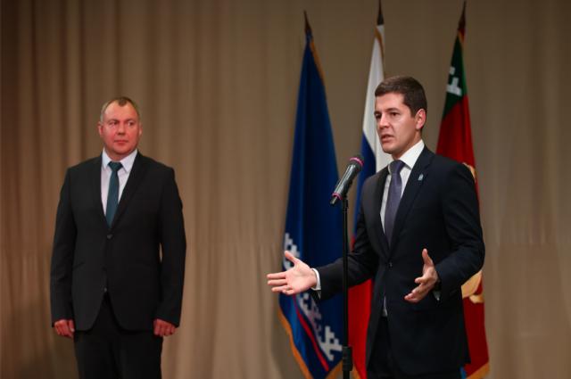 Главы Красноселькупского и Тазовского районов вступили в должности