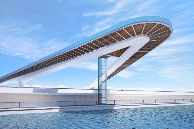 «Ростов Арену» и парк Левобережный свяжет так называемый «летящий» мост