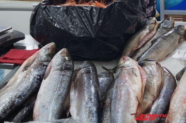 Сейчас в Хабаровске по проекту «Доступная рыба» работают также и торговые сети