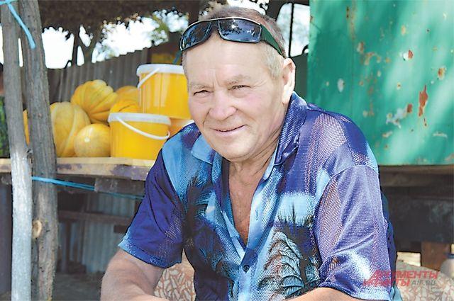 Шишкин, картина маслом. Рассказ о том, как человека спас трактор