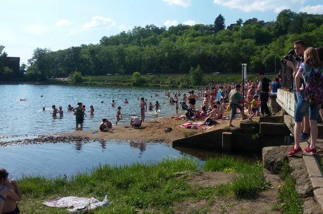 Мотовилихинский пруд - место отдыха многих пермяков.