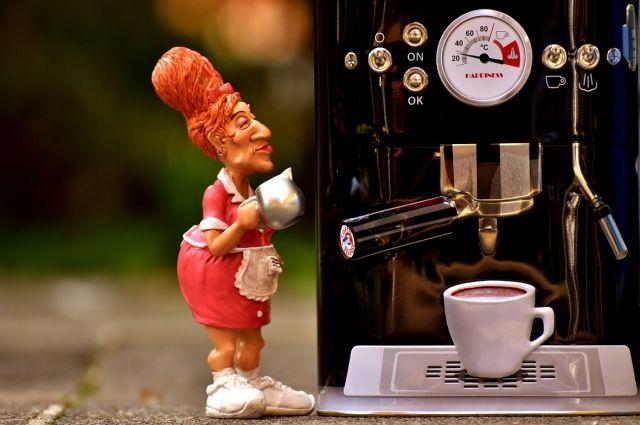 Кофе хорошо согреться зимой.
