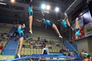 В Оренбурге пройдет чемпионат страны по прыжкам на батуте.