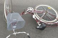 В Соль-Илецке водитель  «ВАЗа» сбил пожилую велосипедистку.