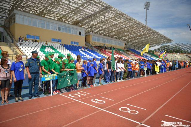 Участие примут победители городских соревнований  «Школа безопасности».