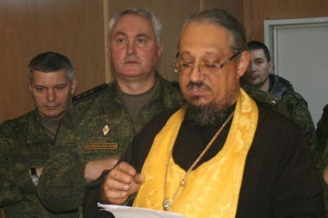 Отец Михаил окормлял российских военнослужащих в Сирии.
