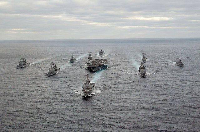 Флот США сообщил о намерении поддержать Украину в вопросе защиты морей